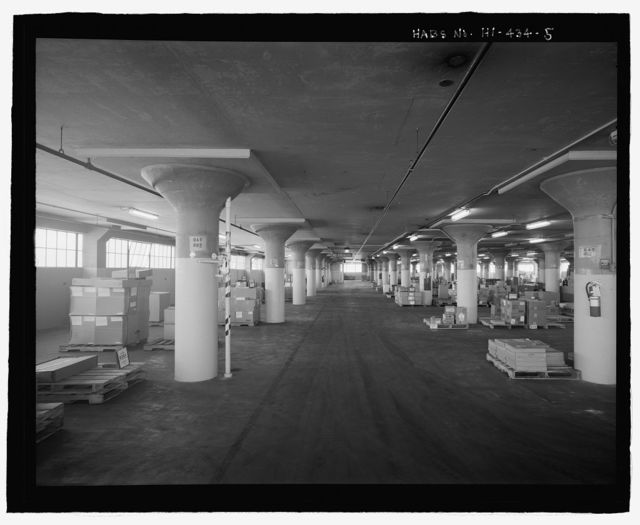 U.S. Naval Base, Pearl Harbor, Dry Provisions Storehouse, Quincy Avenue at North Road, Pearl City, Honolulu County, HI