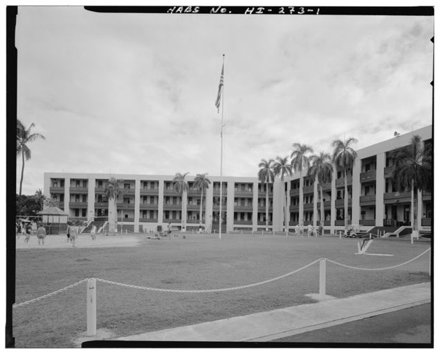 U.S. Naval Base, Pearl Harbor, Flag Pole, Pearl City, Honolulu County, HI
