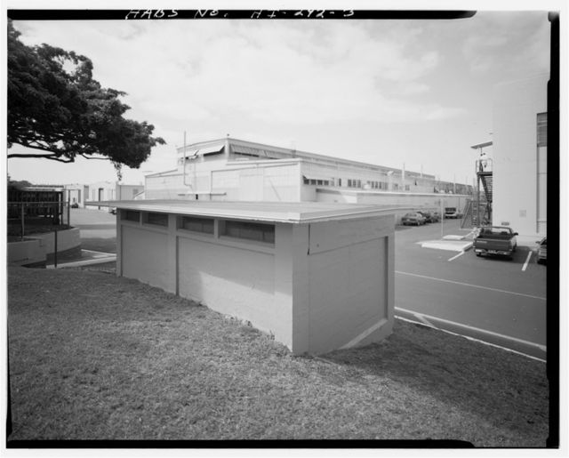 U.S. Naval Base, Pearl Harbor, Flammable Storage Facility, Intersection of Morton & Nimitz Streets, Pearl City, Honolulu County, HI