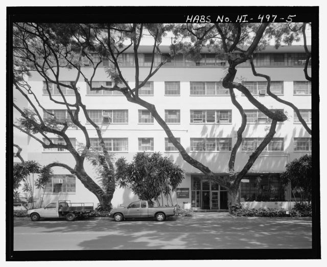 U.S. Naval Base, Pearl Harbor, General Storehouse, Eighth Street at Avenue D, Pearl City, Honolulu County, HI