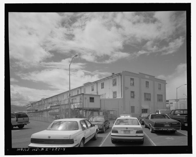U.S. Naval Base, Pearl Harbor, General Storehouse, Intersection of Avenue D & Seventh Street, Pearl City, Honolulu County, HI