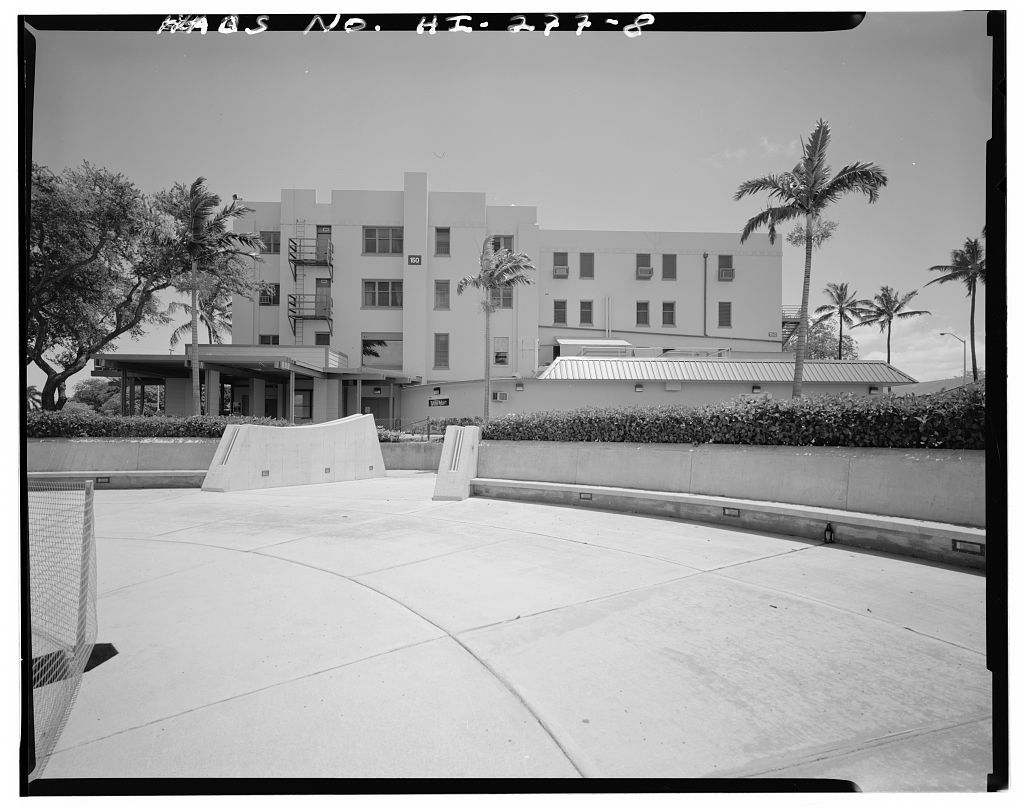 U.S. Naval Base, Pearl Harbor, Headquarters Building, North Road, between Fourteenth Street & North Road, Pearl City, Honolulu County, HI