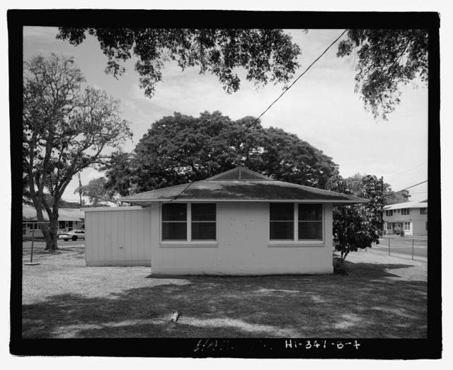 U.S. Naval Base, Pearl Harbor, Housing Area 1, Single Story Duplex Type, Bounded by Kamehameha Highway, Plantation Drive, South Avenue, Pearl City, Honolulu County, HI