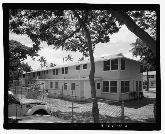 U.S. Naval Base, Pearl Harbor, Housing Area 1, Sixplex Type, Bounded by Kamehameha Highway, Plantation Drive, South Avenue, Pearl City, Honolulu County, HI