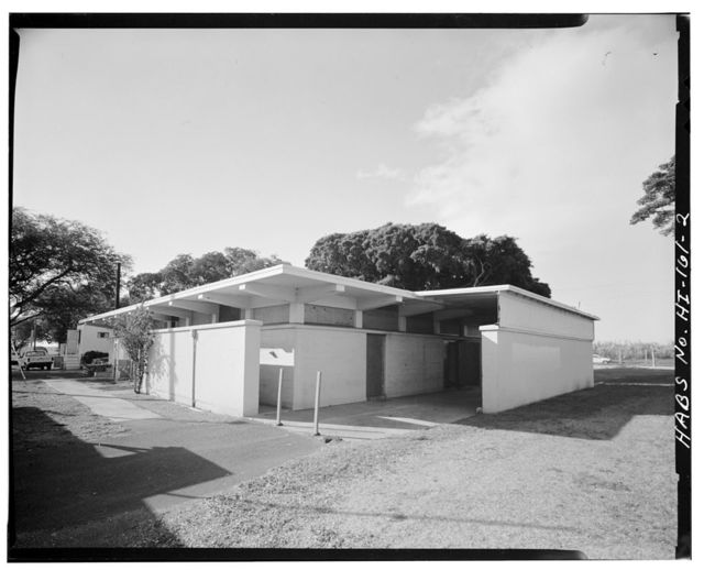 U.S. Naval Base, Pearl Harbor, Naval Ammunition Depot West Loch, Oahu, Dispensary, Near Avenue A between First & Second Streets, Lualualei, West Loch Branch Naval Magazine, Pearl City, Honolulu County, HI