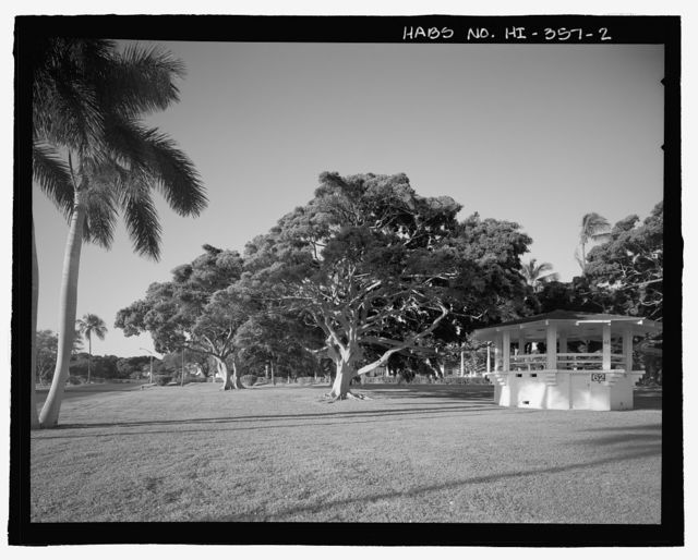 U.S. Naval Base, Pearl Harbor, Naval Housing Area Hale Alii, Hale Alii Avenue, Eighth Street, & Avenue D, Pearl City, Honolulu County, HI