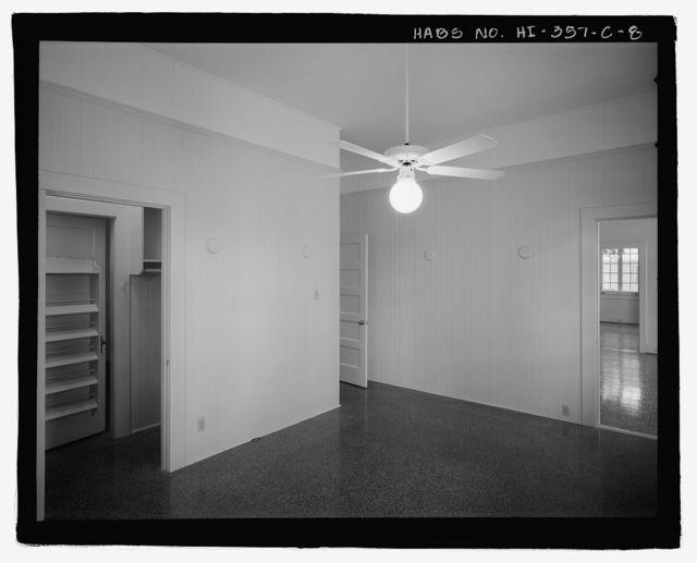 U.S. Naval Base, Pearl Harbor, Naval Housing Area Hale Alii, Junior Officers' Quarters Type, 9-10 Hale Alii Avenue, 1-2 Eighth Street, Pearl City, Honolulu County, HI