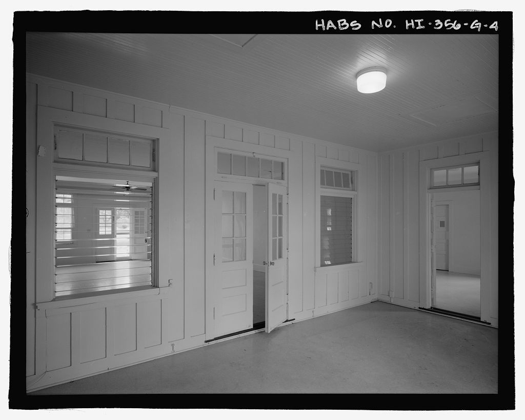 U.S. Naval Base, Pearl Harbor, Naval Housing Area Hospital Point, Junior Officer's Quarters Type, 11-12 First Street, Pearl City, Honolulu County, HI
