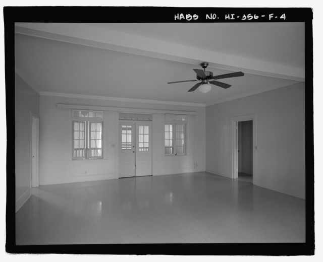 U.S. Naval Base, Pearl Harbor, Naval Housing Area Hospital Point, Pharmacist's Quarters Type, 13-16 First Street, Pearl City, Honolulu County, HI
