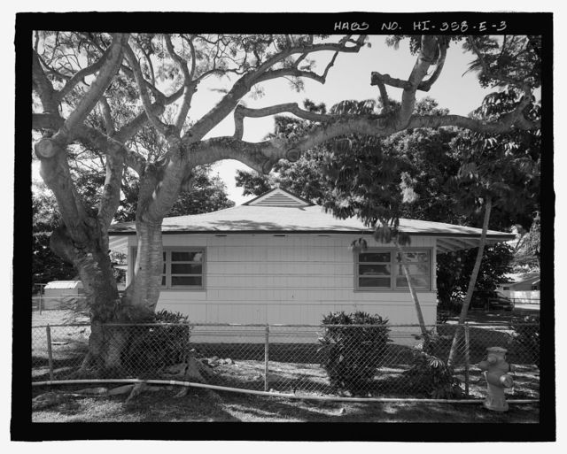 U.S. Naval Base, Pearl Harbor, Naval Housing Area Pearl City Peninsula, Defense Housing Project Type 47A, 308 Laniwai Avenue, Pearl City, Honolulu County, HI