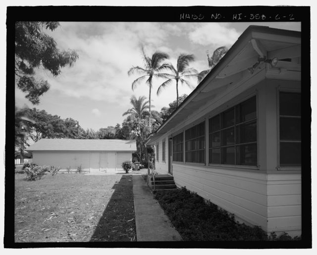 U.S. Naval Base, Pearl Harbor, Naval Housing Area Pearl City Peninsula, House & Garage, 346 Laniwai Avenue, Pearl City, Honolulu County, HI