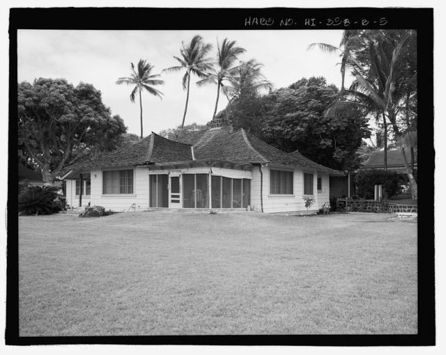 U.S. Naval Base, Pearl Harbor, Naval Housing Area Pearl City Peninsula, Uyehara House & Garage, 1038 Ashley Avenue, Pearl City, Honolulu County, HI