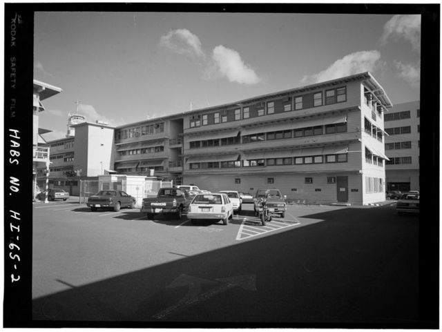 U.S. Naval Base, Pearl Harbor, Naval Shipyard, Building 1E, Pearl City, Honolulu County, HI