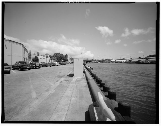 U.S. Naval Base, Pearl Harbor, Naval Submarine Base, Berthing Wharf S1, South Waterfront Road along north side of Quarry Loch, Pearl City, Honolulu County, HI