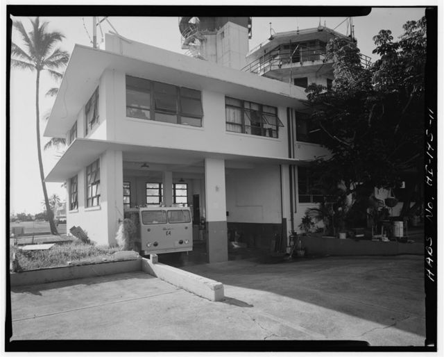 U.S. Naval Base, Pearl Harbor, Operations Building, Ford Island, Enterprise Street near Intrepid Boulevard, Pearl City, Honolulu County, HI