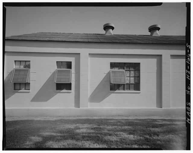 U.S. Naval Base, Pearl Harbor, Ordinance Operations Building, West Loch, First Street near Whiskey Wharves W1 & W2, Pearl City, Honolulu County, HI
