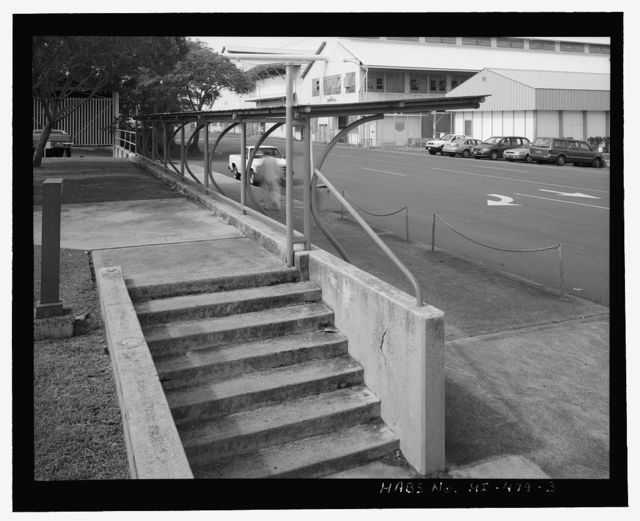 U.S. Naval Base, Pearl Harbor, Passenger Shelter, Seventh Street near Avenue F intersection, Pearl City, Honolulu County, HI