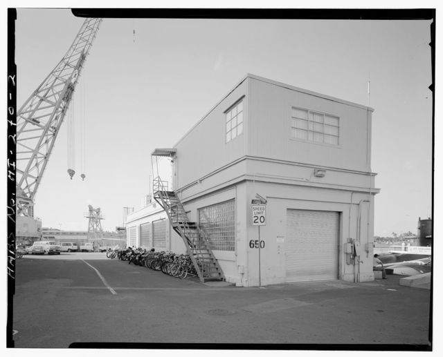 U.S. Naval Base, Pearl Harbor, Periscope House, West waterfront & Craig Street near Berth S-4, Pearl City, Honolulu County, HI