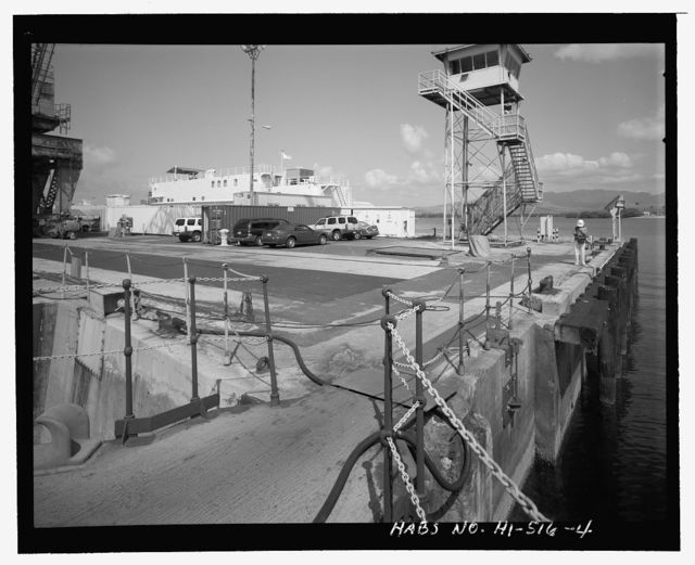 U.S. Naval Base, Pearl Harbor, Pier & Quay Walls, Entrance to Dry Dock No. 2 & Repair Wharfs, east & west sides of Dry Dock No. 2 & west side of Dry Dock No. 3, Pearl City, Honolulu County, HI