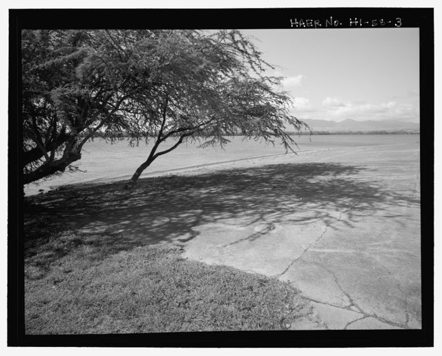 U.S. Naval Base, Pearl Harbor, Seaplane Runway, Southern tip of Ford Island, near Lexington Boulevard, Pearl City, Honolulu County, HI