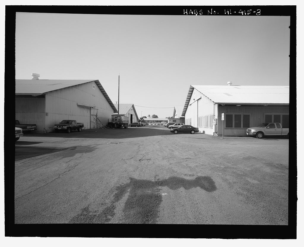 U.S. Naval Base, Pearl Harbor, Temporary Storehouses - 1941 Type, Between Russell, South and Paul Hamilton Avenues, Pearl City, Honolulu County, HI