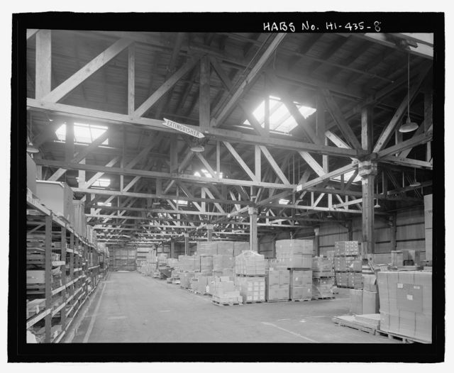 U.S. Naval Base, Pearl Harbor, Temporary Storehouses - 1944 Type, North Road at Neches Avenue, Pearl City, Honolulu County, HI