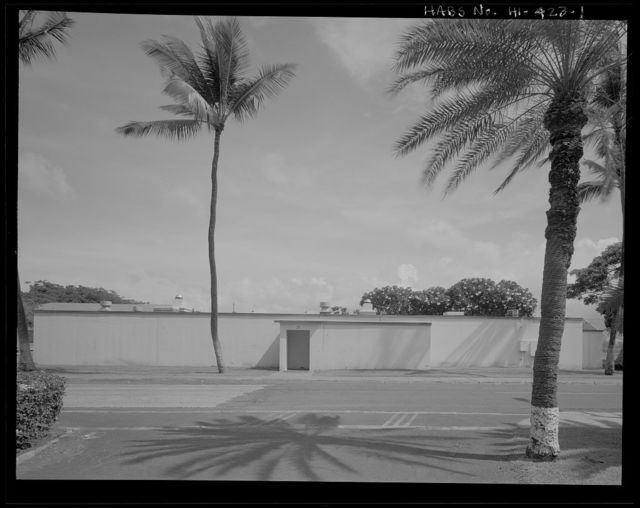 U.S. Naval Base, Pearl Harbor, Type A Casualty Station, Hale Alii Avenue at Frederick Street, Pearl City, Honolulu County, HI