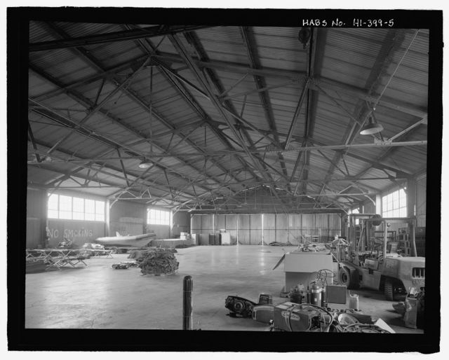 U.S. Naval Base, Pearl Harbor, United States All-Steel Hangar, Wasp Boulevard between Kingfisher Street and Ranger Loop, Pearl City, Honolulu County, HI