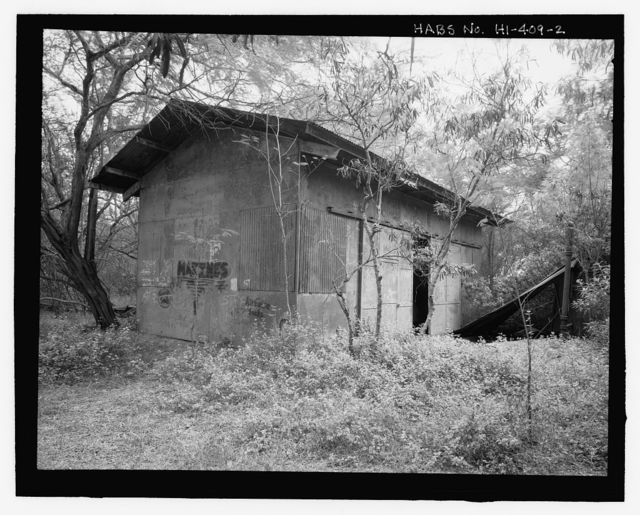 U.S. Naval Base, Pearl Harbor, Winch Station, Near shore in Iriquois Point Housing Area, Pearl City, Honolulu County, HI