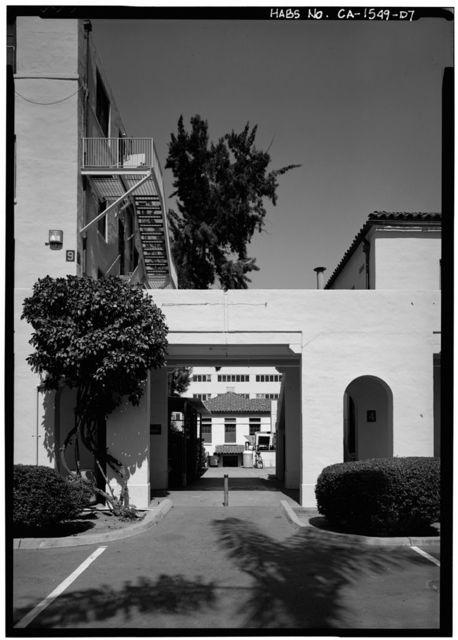 U.S. Naval Hospital, Subsistence Building, Park Boulevard, Balboa Park, San Diego, San Diego County, CA