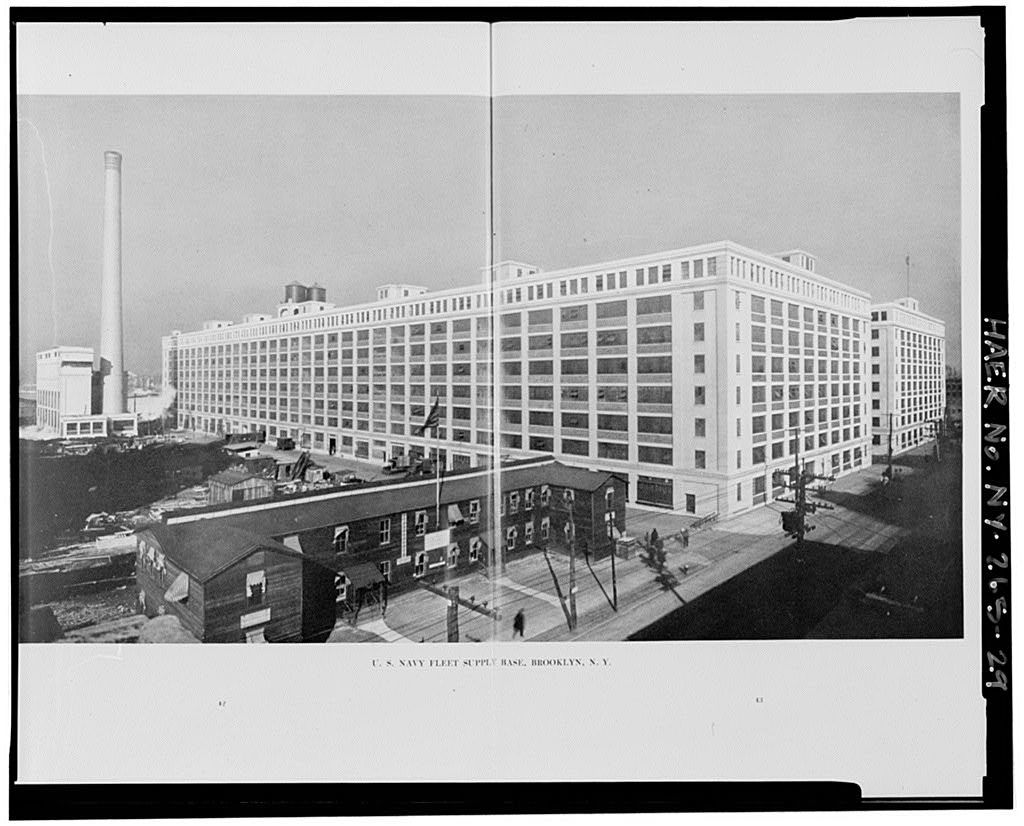U.S. Navy Fleet Supply Base, Storehouse No. 1, 830 Third Avenue, Brooklyn, Kings County, NY