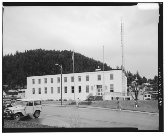 U.S. Post Office & Customs House, Church Street, Wrangell, Wrangell-Petersburg Census Area, AK