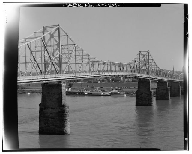 U.S. Route 27 Central Bridge, Spanning Ohio River, Newport, Campbell County, KY