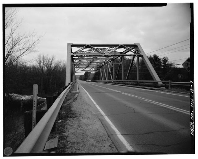 U.S. Route 4 Bridge, Spanning Mascoma River, Canaan, Grafton County, NH