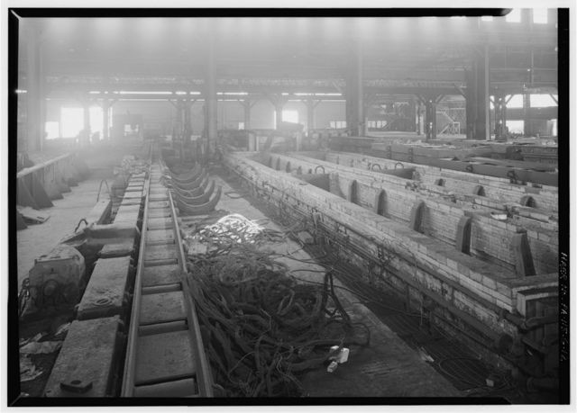 U.S. Steel Duquesne Works, 22-Inch Bar Mill, Along Monongahela River, Duquesne, Allegheny County, PA
