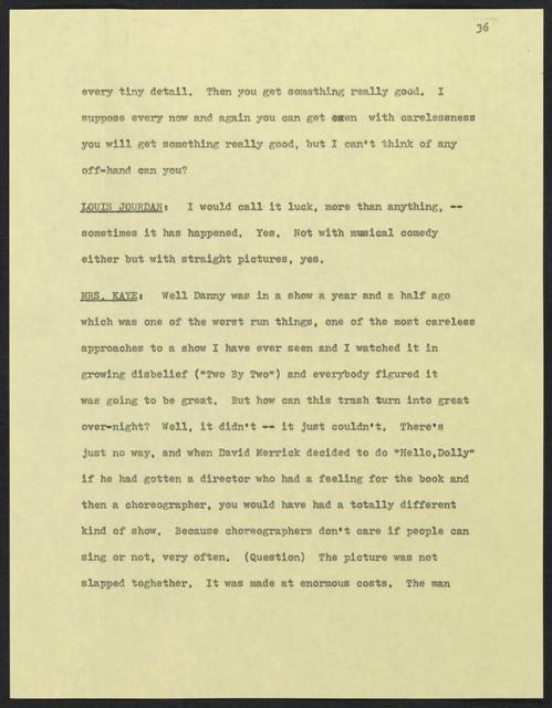 [ USC Lecture Series, February 22, 1972 - Guest: Louis Jourdan]