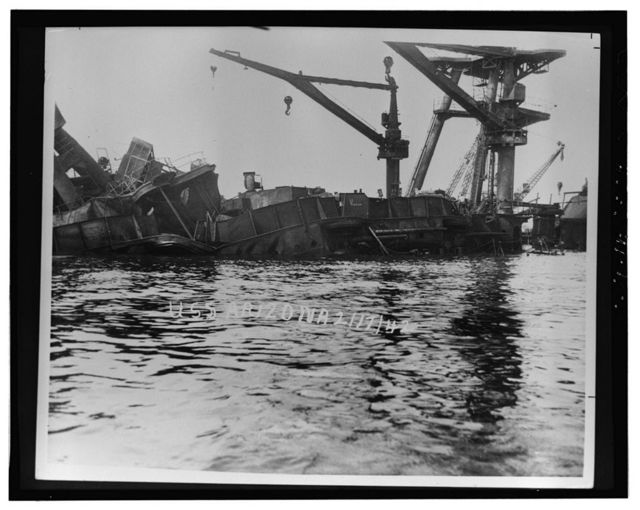 USS Arizona, Submerged off Ford Island, Pearl Harbor, Honolulu, Honolulu County, HI