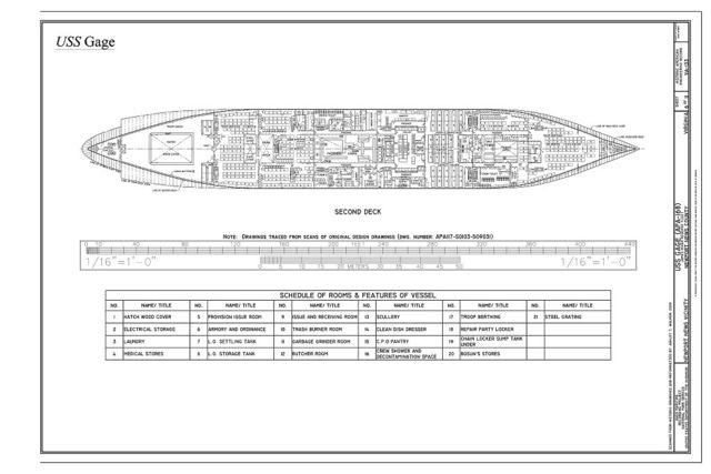USS Gage, James River Reserve Fleet, Newport News, Newport News, VA