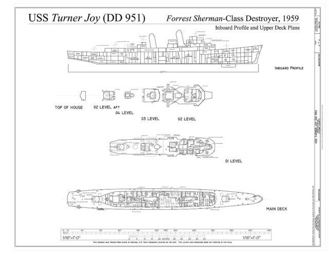 USS Turner Joy, Bremerton Marina, Bremerton, Kitsap County, WA