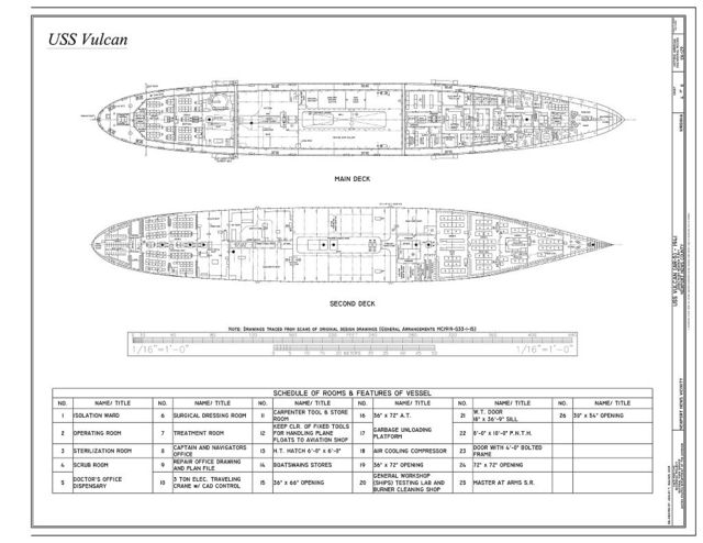 USS Vulcan, James River Reserve Fleet, Newport News, Newport News, VA