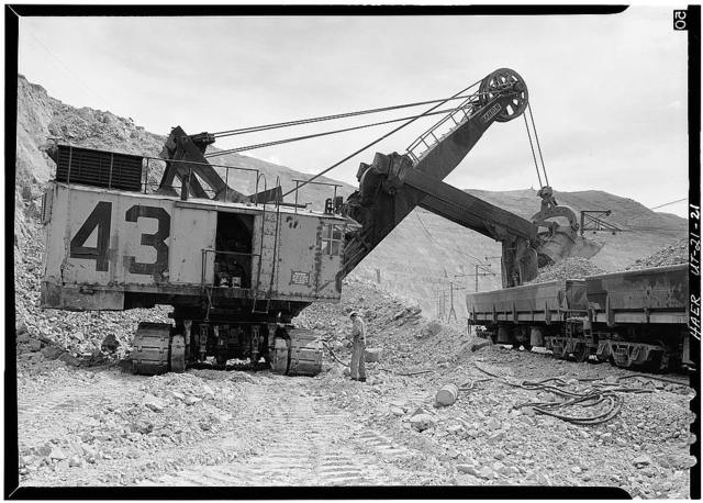 Utah Copper Company, Bingham Canyon Mine, State Route 48, Copperton, Salt Lake County, UT