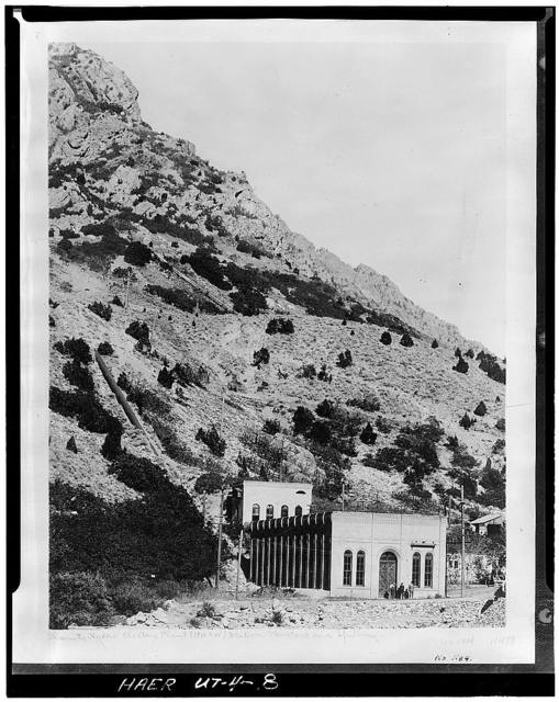 Utah Power Company, Granite Hydroelectric Plant, Holladay, Salt Lake County, UT