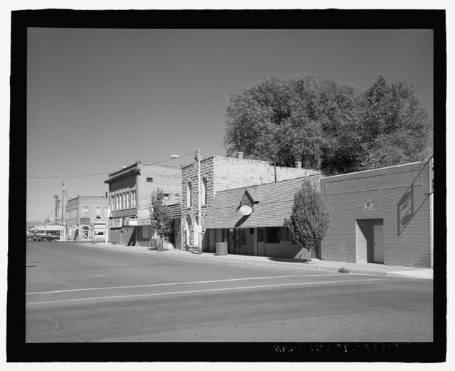 Vale Commercial Historic District, A Street between Holland & Longfellow Streets, north side of B Street between Holland & Main Streets, Main Street South from A Street through B Street, & Stone House at 283 Main Street South, Vale, Malheur County, OR