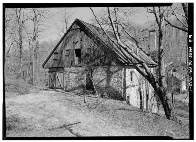Valentine-Edge Mill, State Route 340 (Caln Township), Downingtown, Chester County, PA