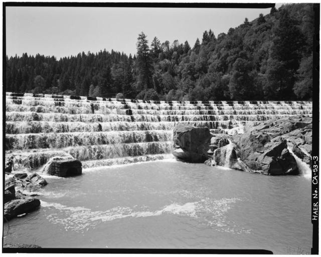 Van Arsdale Dam, South Fork of Eel River, Ukiah, Mendocino County, CA