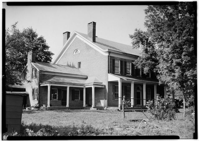 Van Slyck House, State Route 5S, Rotterdam, Schenectady County, NY