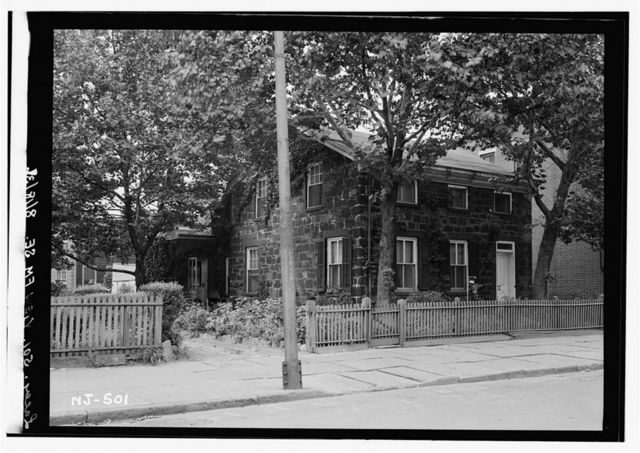 Van Vorst House, 531 Palisade Avenue, Jersey City, Hudson County, NJ