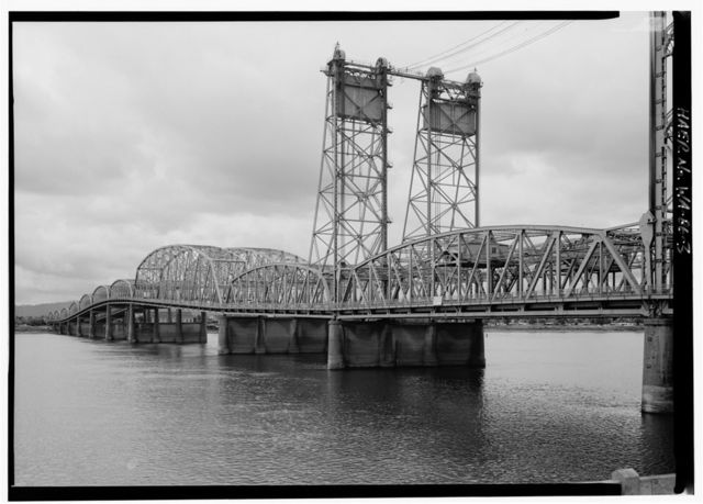 Vancouver-Portland Interstate Bridge, Interstate Route 5 Spanning Columbia River, Vancouver, Clark County, WA