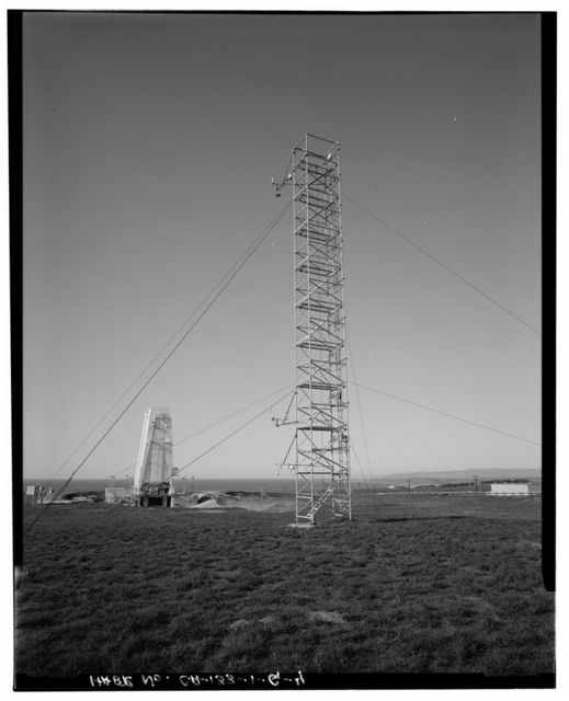 Vandenberg Air Force Base, Space Launch Complex 3, Meteorological Shed & Tower, Napa & Alden Roads, Lompoc, Santa Barbara County, CA