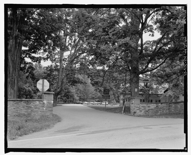 Vanderbilt Mansion Roads & Bridges, Hyde Park, Dutchess County, NY